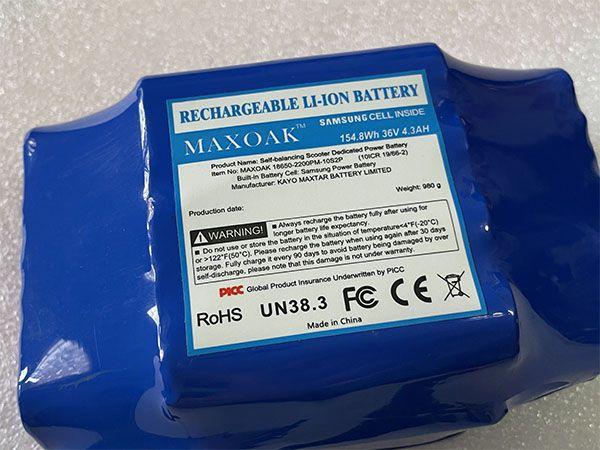 10S2P18650 Batteria ricambio