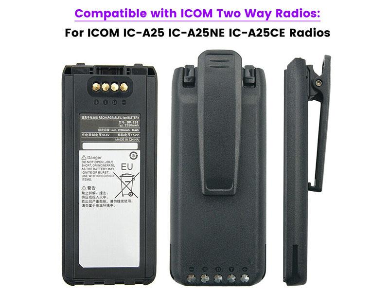ICOM BP-288 2INP11/34/50