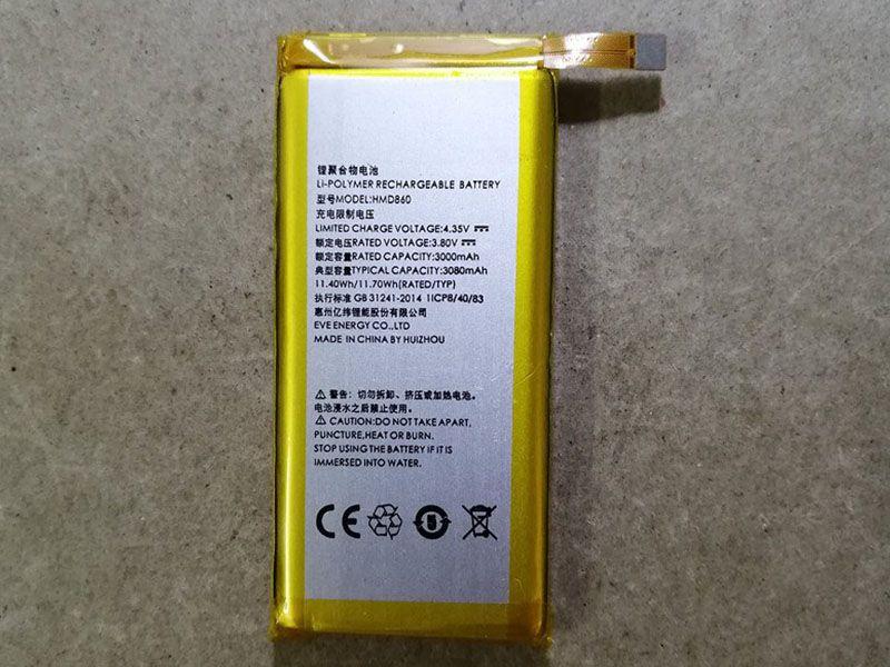 HMD860 Batteria Per Cellulare
