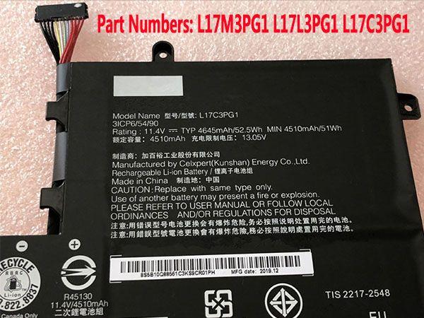 Lenovo L17C3PG1 L17L3PG1 L17M3PG1