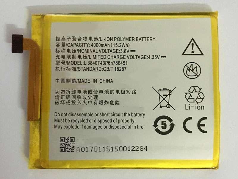 Li3840T43P6h786451 Batteria Per Cellulare