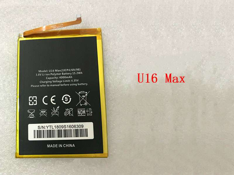 U16_Max Batteria Per Cellulare