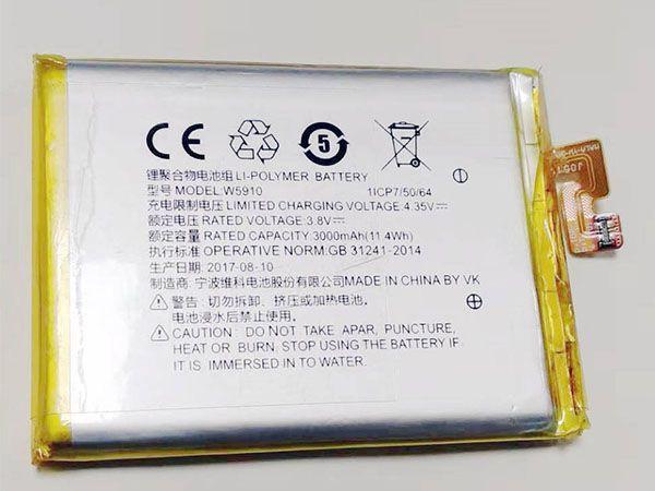 W5910 Batteria Per Cellulare