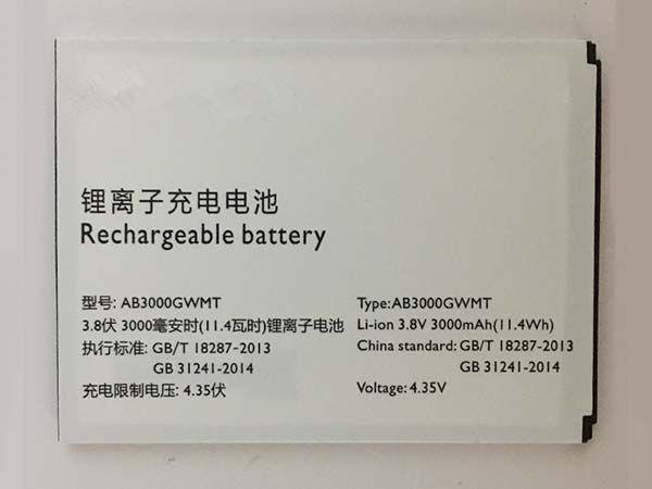 AB3000GWMT Batteria Per Cellulare