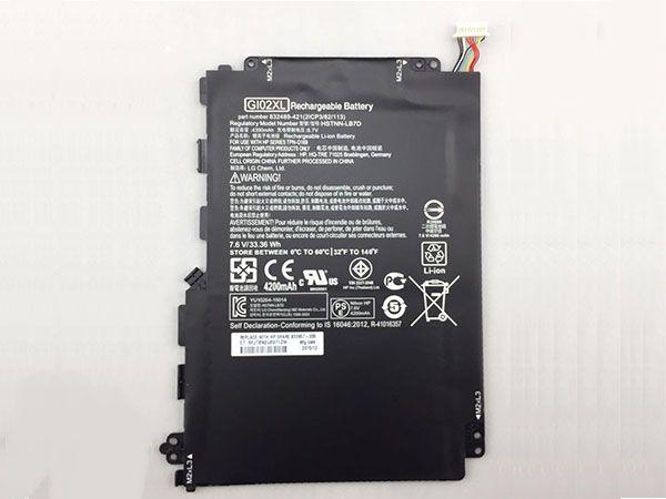 GI02XL Batteria del tablet