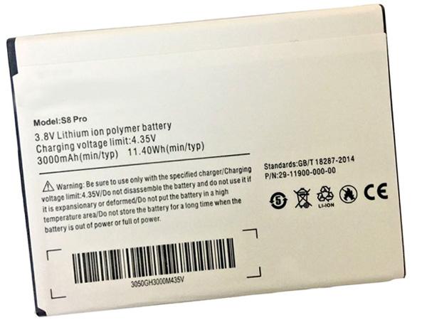 S8_pro Batteria Per Cellulare
